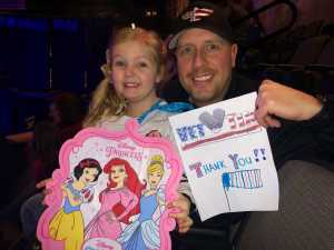 Jed attended Disney on Ice Presents: Worlds of Enchantment on Mar 14th 2019 via VetTix
