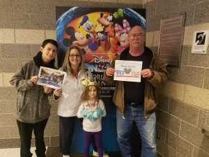 Willard attended Disney on Ice Presents: Worlds of Enchantment on Mar 14th 2019 via VetTix
