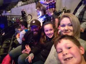 James attended Disney on Ice Presents: Worlds of Enchantment on Mar 14th 2019 via VetTix