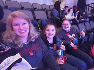 Chris Crooks attended Disney on Ice Presents: Worlds of Enchantment on Mar 14th 2019 via VetTix
