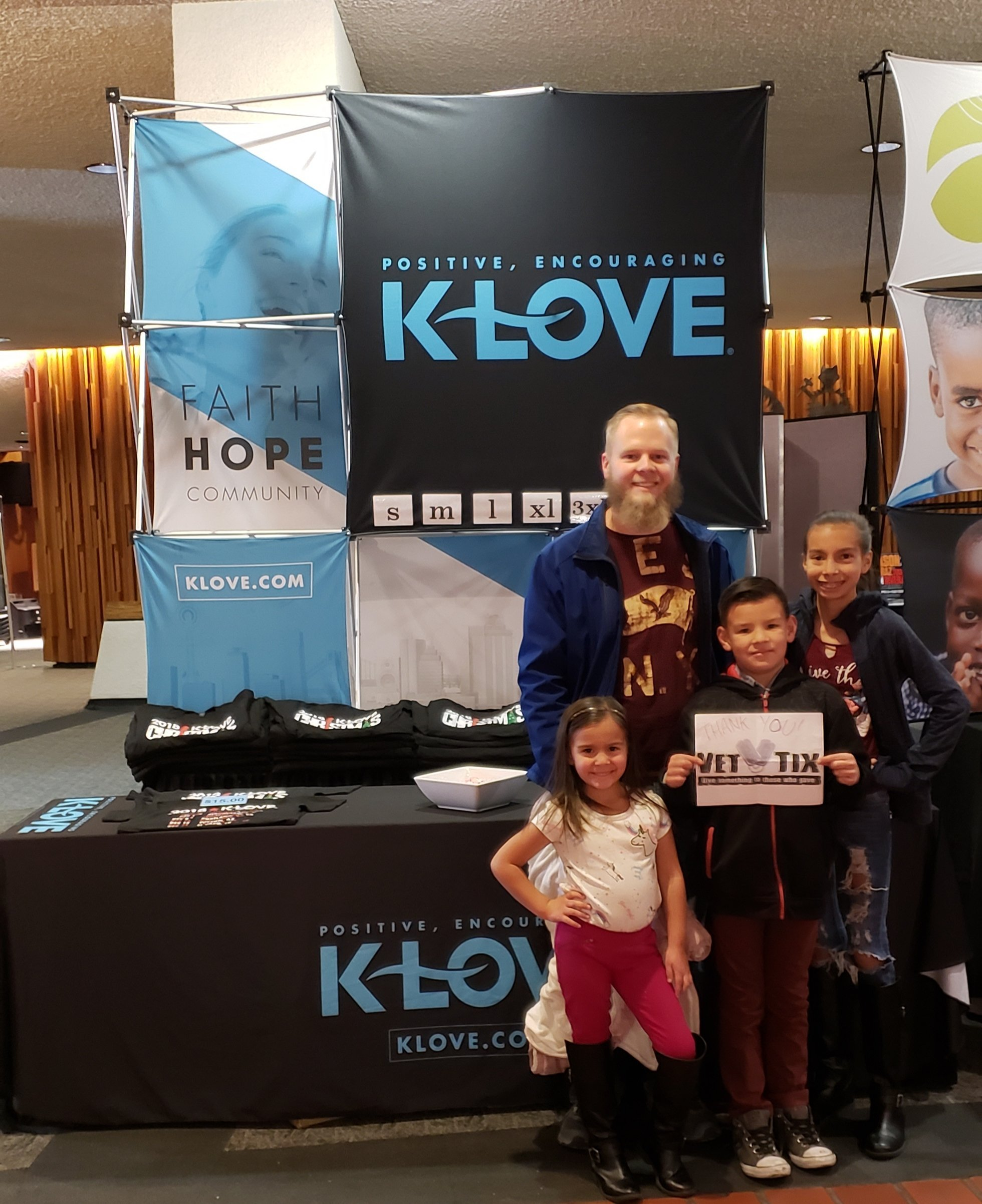 Klove Christmas.Thank You Messages To Veteran Tickets Foundation Donors