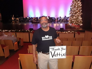 jeffery attended The Phoenix Symphony - Cirque Holiday Spectacular on Dec 8th 2018 via VetTix