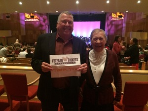Roger & Kitty attended The Phoenix Symphony - Cirque Holiday Spectacular on Dec 8th 2018 via VetTix