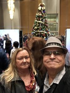 George attended The Phoenix Symphony - Cirque Holiday Spectacular on Dec 8th 2018 via VetTix