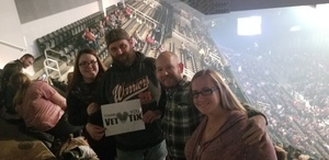 Keith attended Cole Swindell and Dustin Lynch - Reason to Drink Another Tour on Dec 8th 2018 via VetTix