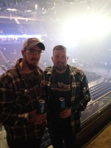 Stacey attended Cole Swindell and Dustin Lynch - Reason to Drink Another Tour on Dec 8th 2018 via VetTix