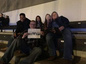 Billy attended Cole Swindell and Dustin Lynch - Reason to Drink Another Tour on Dec 8th 2018 via VetTix