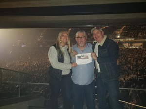 William attended Cole Swindell and Dustin Lynch - Reason to Drink Another Tour on Dec 8th 2018 via VetTix