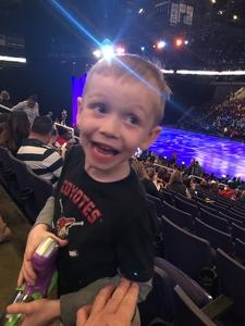 Sandra attended Disney on Ice Presents Dare to Dream on Jan 17th 2019 via VetTix