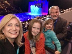 William attended Disney on Ice Presents Dare to Dream on Jan 17th 2019 via VetTix
