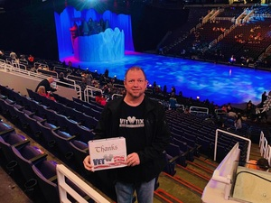 Emery attended Disney on Ice Presents Dare to Dream on Jan 17th 2019 via VetTix