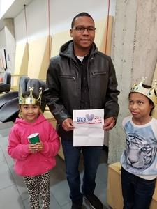 redus attended Disney on Ice Presents Dare to Dream on Jan 17th 2019 via VetTix