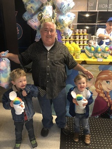Joseph attended Disney on Ice Presents Dare to Dream on Jan 17th 2019 via VetTix