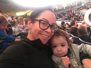 Michelle attended Disney on Ice Presents Dare to Dream on Jan 17th 2019 via VetTix