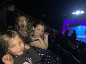 Robert's daughters attended Disney on Ice Presents Dare to Dream on Jan 17th 2019 via VetTix