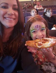 Nicole attended Disney on Ice Presents Dare to Dream on Jan 17th 2019 via VetTix