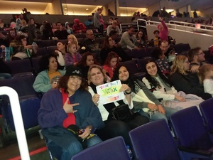 Carrie Lee attended Disney on Ice Presents Dare to Dream on Jan 17th 2019 via VetTix