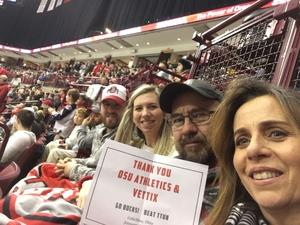 Gene attended Ohio State Buckeyes vs. University of Michigan Yellow Jackets - NCAA Hockey on Jan 11th 2019 via VetTix