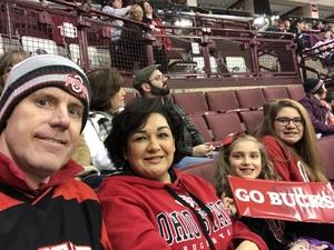 Steven attended Ohio State Buckeyes vs. University of Michigan Yellow Jackets - NCAA Hockey on Jan 11th 2019 via VetTix