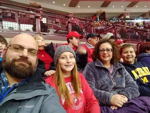 Ronald attended Ohio State Buckeyes vs. University of Michigan Yellow Jackets - NCAA Hockey on Jan 11th 2019 via VetTix