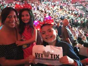 Susan attended Disney on Ice Celebrates 100 Years of Magic - Ice Shows on May 16th 2019 via VetTix