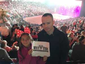 Joseph attended Disney on Ice Celebrates 100 Years of Magic - Ice Shows on May 16th 2019 via VetTix