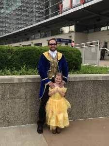 Eric  attended Disney on Ice Celebrates 100 Years of Magic - Ice Shows on May 16th 2019 via VetTix