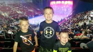 John attended Disney on Ice Celebrates 100 Years of Magic - Ice Shows on May 16th 2019 via VetTix