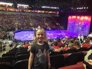 Angel  attended Disney on Ice Celebrates 100 Years of Magic - Ice Shows on May 16th 2019 via VetTix
