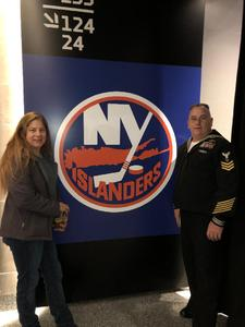 Kevin attended New York Islanders vs. Carolina Hurricanes - NHL - Veteran of the Game - Must Read Before Claiming! * See Notes on Jan 8th 2019 via VetTix