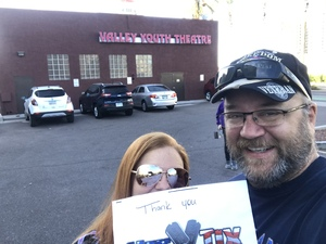 Don attended A Winnie-the-pooh Christmas Tail - Performed by Valley Youth Theatre - Saturday Matinee on Dec 22nd 2018 via VetTix