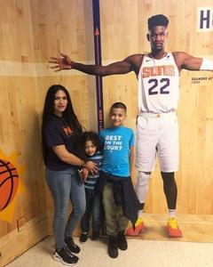 Marcell attended Phoenix Suns vs. Miami Heat - NBA on Dec 7th 2018 via VetTix