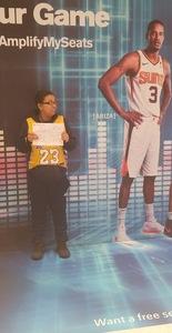 Albert attended Phoenix Suns vs. Miami Heat - NBA on Dec 7th 2018 via VetTix