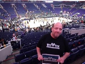 James attended Phoenix Suns vs. Miami Heat - NBA on Dec 7th 2018 via VetTix