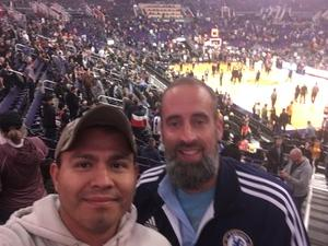 Jesus attended Phoenix Suns vs. Miami Heat - NBA on Dec 7th 2018 via VetTix