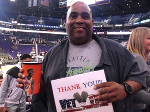 Ken attended Phoenix Suns vs. Miami Heat - NBA on Dec 7th 2018 via VetTix