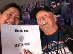Jack attended Phoenix Suns vs. Miami Heat - NBA on Dec 7th 2018 via VetTix