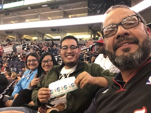 Hector attended Phoenix Suns vs. Miami Heat - NBA on Dec 7th 2018 via VetTix
