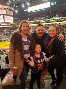 Michael attended Phoenix Suns vs. Miami Heat - NBA on Dec 7th 2018 via VetTix