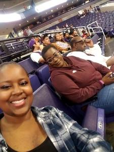 Yanti attended Phoenix Suns vs. Miami Heat - NBA on Dec 7th 2018 via VetTix