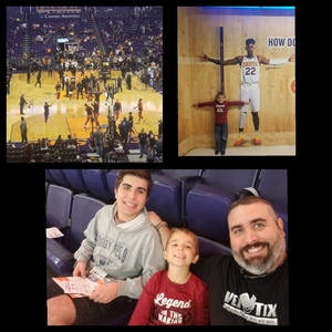Richard attended Phoenix Suns vs. Miami Heat - NBA on Dec 7th 2018 via VetTix
