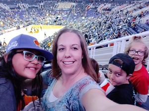 Linzie attended Phoenix Suns vs. Miami Heat - NBA on Dec 7th 2018 via VetTix