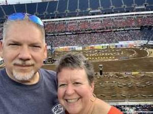 Richard attended Monster Energy Supercross - Motorsports/racing on Apr 6th 2019 via VetTix