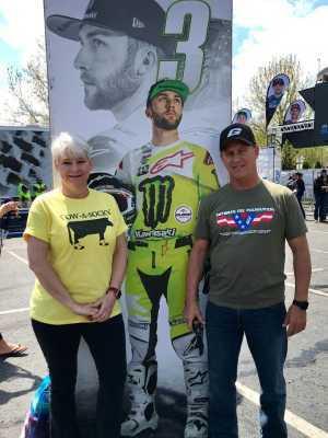 Steve F attended Monster Energy Supercross - Motorsports/racing on Apr 6th 2019 via VetTix