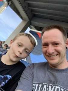 Dustin attended Monster Energy Supercross - Motorsports/racing on Apr 6th 2019 via VetTix