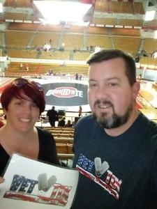 Stacey attended Ohio State Buckeyes vs. North Carolina State University - NCAA Wrestling on Jan 6th 2019 via VetTix