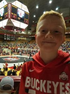 James attended Ohio State Buckeyes vs. North Carolina State University - NCAA Wrestling on Jan 6th 2019 via VetTix