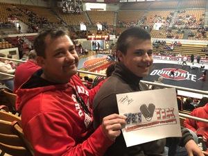 Chris attended Ohio State Buckeyes vs. North Carolina State University - NCAA Wrestling on Jan 6th 2019 via VetTix