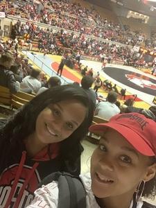 Marissa attended Ohio State Buckeyes vs. North Carolina State University - NCAA Wrestling on Jan 6th 2019 via VetTix