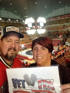 Stacey attended Ohio State Buckeyes vs. Penn State Nittany Lions - NCAA Wrestling on Feb 8th 2019 via VetTix
